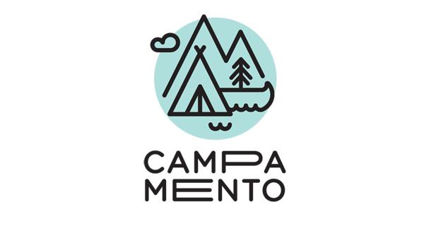 Campamento Logo Design Barcelona