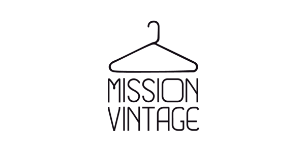 Logo design for Mission Vintage in Barcelona